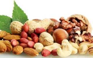 Польза и вред орехов при лечении гастрита