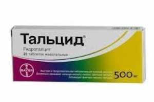 Инструкция по применению препарата Тальцид
