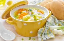 Лучшие рецепты полезных и вкусных супов при гастрите