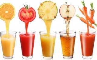 Полезные свойства томатного, яблочного, картофельного и других соков при гастрите