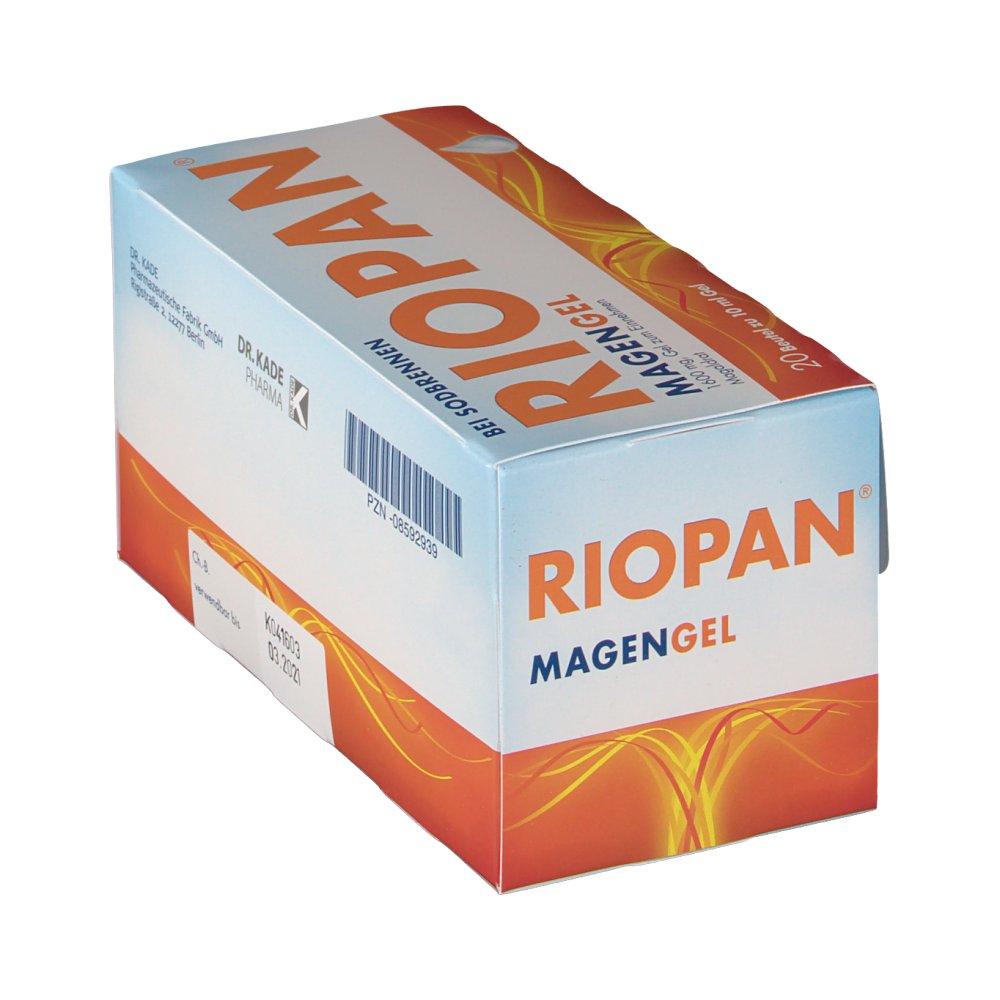 Упаковка Риопан