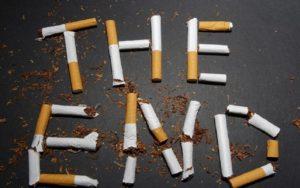 Нужно бросать курение!