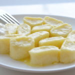 Ленивые вареники с нежирным йогуртом