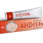 Мазь с содержанием азелаиновой кислоты или бензоилом пероксида