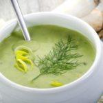 Пюреобразный суп из сельдерея
