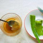 Сок свежего алоэ и мёд