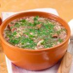 Суп-харчо без поджарки