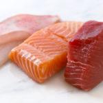 Жирные сорта рыбы и мяса