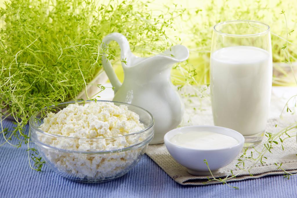 Кефир, йогурт и творог