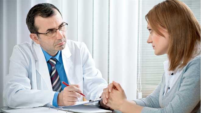 Незамедлительного обращения к лечащему врачу