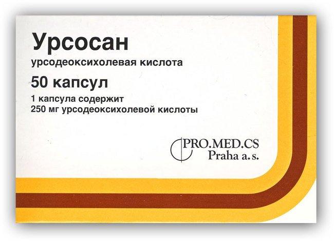 Урсосан фармакокинетика