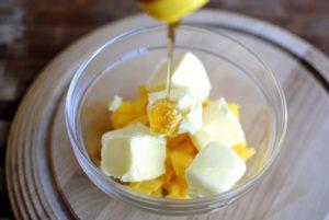 Мед и сливочное масло