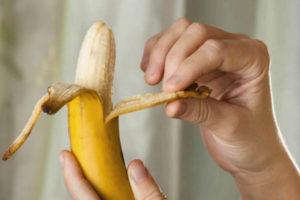 Употребление банана должно быть отдельным приемом пищи